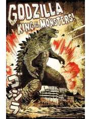 Godzilla King of the Monsters - plakat