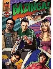 The Big Bang Theory Comic Bazinga - plakat