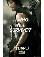 The Walking Dead Daryl Survive - plakat