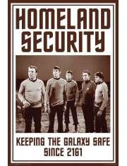 Star Trek Homeland Security - plakat