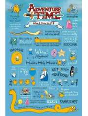 Pora na Przygodę Adventure Time informacje - plakat