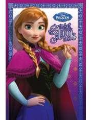Kraina Lodu Frozen Anna - plakat