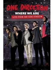 One Direction Where We Are - plakat