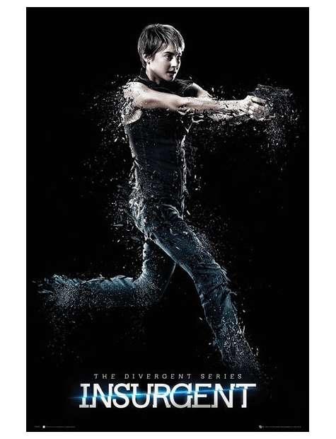 Zbuntowana Insurgent Tris - plakat