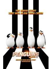 Pingwiny z Madagaskaru - plakat