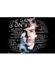 Sherlock Powiedzonka - plakat