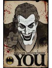 Joker Needs You Batman - plakat