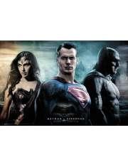 Batman v Superman City - plakat