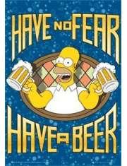 The Simpsons Homer - plakat 3D