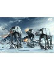 Star Wars Gwiezdne Wojny Bitwa o Hoth - plakat