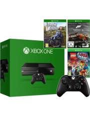 Xbox One 500gb + 3gry + pad