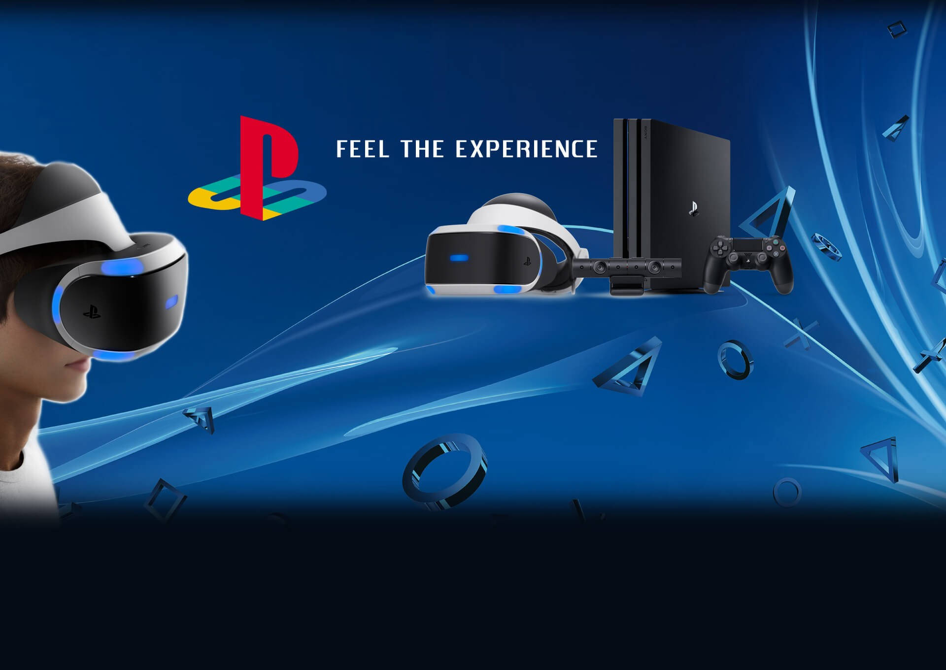 Slider Playstation 4 pro vr