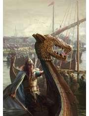 Żeglarze wikińscy - plakat premium
