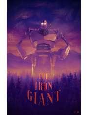 Iron Giant - plakat premium