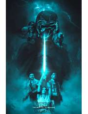 Star Wars Gwiezdne Wojny Skywalker Odrodzenie Imperator - plakat premium