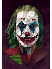 Joker ciemne tło - plakat