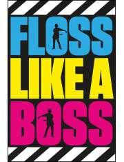 Fortnite Battle Royale Floss Like A Boss - plakat