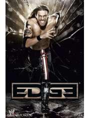 WWE Wrestling Edge Running - plakat