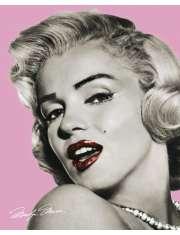 Marilyn Monroe Pink Lips - plakat