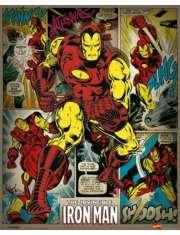 Marvel Comics - Iron Man Retro - plakat