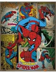 Marvel Comics - Spiderman Retro - plakat