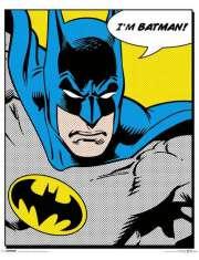 Batman - retro plakat