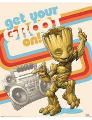 Strażnicy Galaktyki Get Your Groot On - plakat