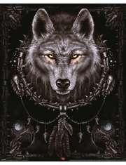 Spiral Wilk - plakat