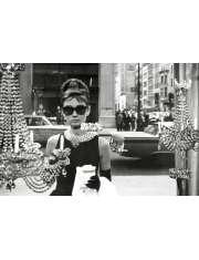 Audrey Hepburn - Śniadanie u Tiffanego - Window - plakat