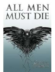 Gra o Tron All Men Must Die - plakat