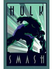 Marvel Hulk Retro - plakat