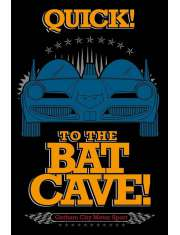 Batman The Bat Cave - plakat