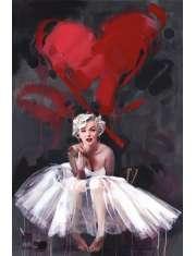Marilyn Monroe Serce - plakat