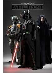 Gwiezdne Wojny Star Wars Battlefront Darth Vader - plakat