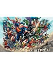 Liga Sprawiedliwości Justice League Rebirth - plakat