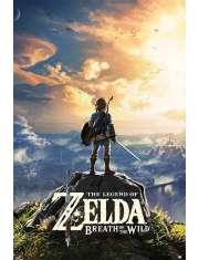 The Legend Of Zelda Breath Of The Wild - plakat
