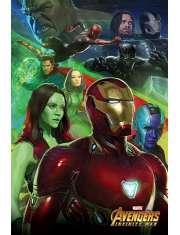 Avengers Infinity War Iron Man - plakat