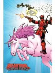 Deadpool Jednorożec - plakat