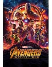 Avengers Infinity War Bohaterowie - plakat