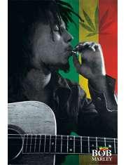Bob Marley Smoke - plakat