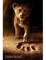 Król Lew Simba - plakat