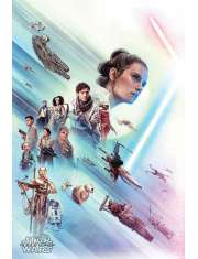 Star Wars Gwiezdne Wojny Skywalker Odrodzenie Rey - plakat