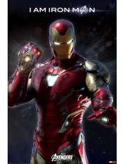 Avengers Endgame Ironman - plakat