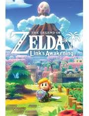 The Legend Of Zelda Links Awakening - plakat
