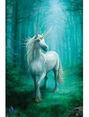 Anne Stokes Unicorn Jednorożec - plakat