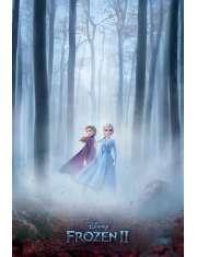 Kraina Lodu 2 Frozen Anna i Elza - plakat