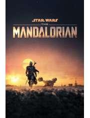 Star Wars The Mandalorian Dusk - plakat