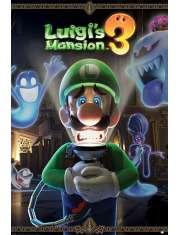 Luigis Mansion 3 Nintendo - plakat
