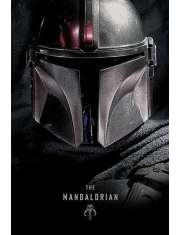 Star Wars The Mandalorian Dark - plakat