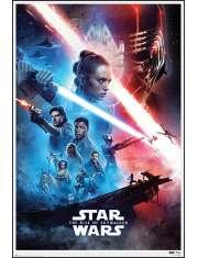 Star Wars Gwiezdne Wojny Skywalker Odrodzenie Saga - plakat